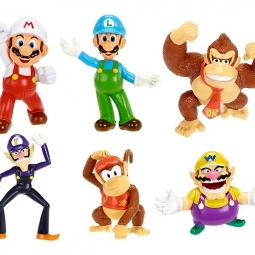 Mario figures assorted 1