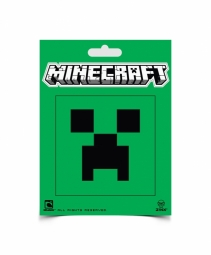 Minecraft sticker Creeper face
